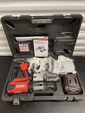 Ridgid Rp 350 Press Tool Kit Propress Jaws 12 2 67053 New Model