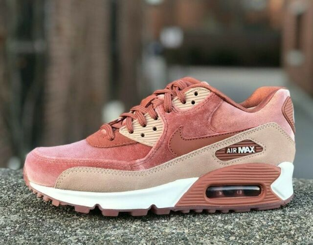 Nike Air Max 90 LX Womens Shoes Size 9 Dusty Peach Pink SNEAKERS 898512 201