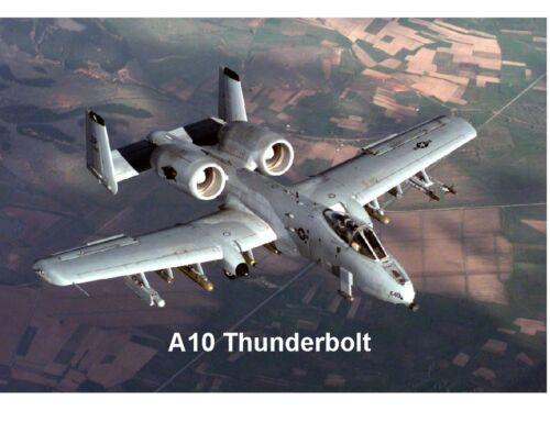 A10 Thundebolt Jet Tank Killer Refrigerator Tool Box Magnet Gift Card Insert