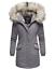 Navahoo-premium-para-mujer-muy-caliente-invierno-chaqueta-invierno-parka-capa-lujo-Cristal miniatura 22
