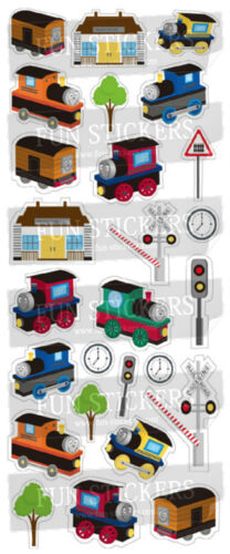 Fun Stickers TRAIN SET 716 For Children Fun Activities Craft Decorating Gifts