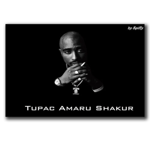 E2236 Art Tupac Shakur 2Pac Hip Hop Music Star Poster Hot Gift 24x36 40inch