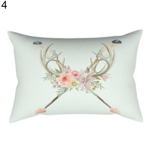 EE/_ Spring Train Rectangle Pillow Cushion Cover Throw Pillow Case Home Decor Eye
