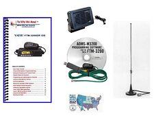 Yaesu FTM-3200DR VHF C4FM Mobile Radio Accessory Bundle