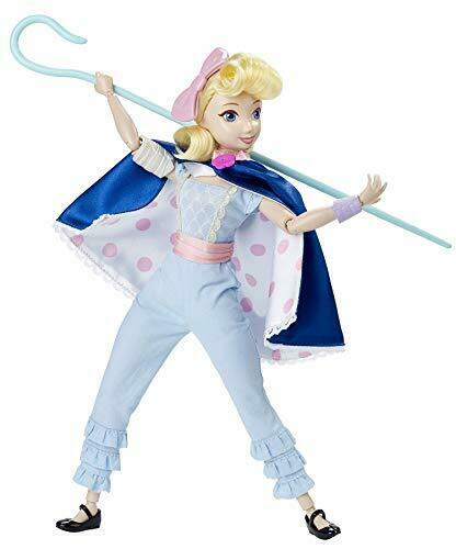 Disney Pixar Toy Story 4 Epic Moves Bo Peep Doll avec accessoires officier giggl