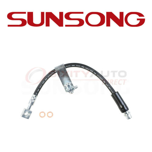 Sunsong Brake Hydraulic Hose for 2004-2012 Chevrolet Malibu 2.2L 2.4L 3.5L pm