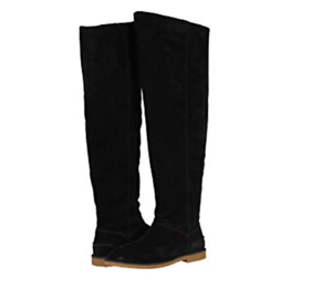 5660af6951e NEW 2019 UGG WOMEN LOMA OVER THE KNEE BOOT SUEDE BLACK 1095394 ...