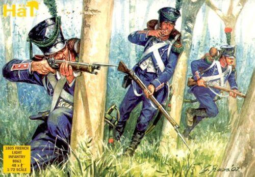 Hat 1/72 Napoleonisch 1805 Französisch Leichte Infanterie #8063 Action- & Spielfiguren