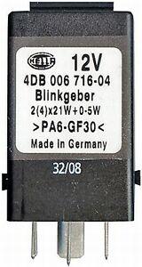 BMW 3 5 7 8 Series Z3 E36 E34 E32 E31 Hazard Warning Flasher Relay Black 1388533