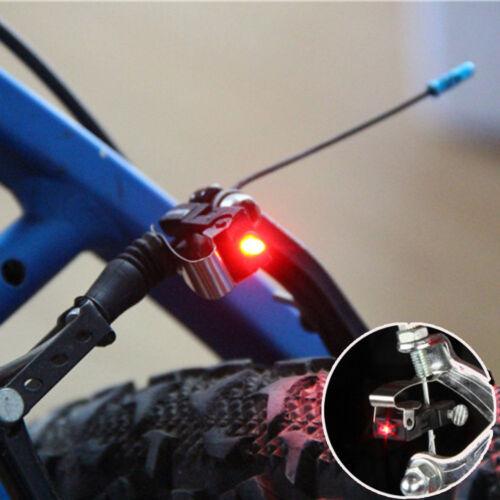 Red LED Cycling Bike Mountain Bicycle Brake Light Bike Brake Lights Warning Lamp