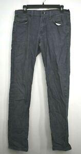 Levis Mens Gray 5-Pocket Comfortable Straight Leg Casual Denim Jeans 32 x 34