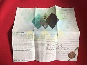 Rolex-Certificate-Guarantee-Warranty-For-a-Z-serial-Datejust-116234