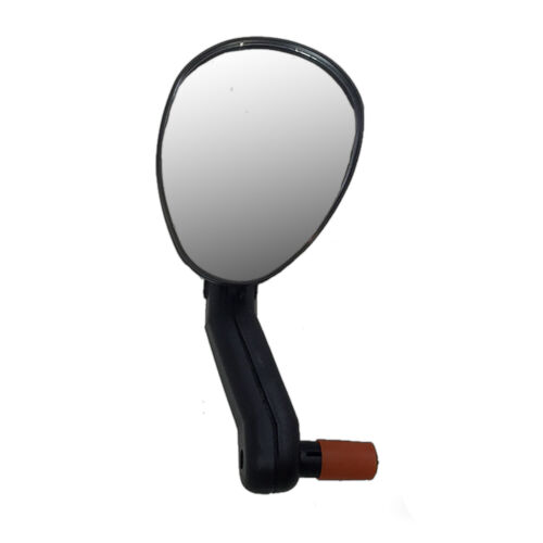 Left or Right Bicycle Mirro Convex Bike Rear View Mirror Fits 15-22 mm Bar End