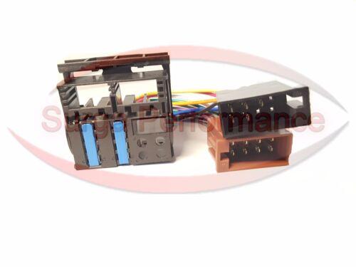 Quadlock ISO Auto Radio Adaptador Cable mercedes clase e//SLK-clase//CLK-clase