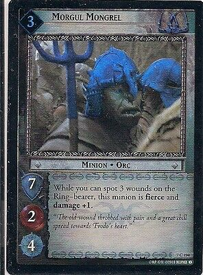 Lord of the Rings CCG Morgul Hunter #256 Rare Fellowship