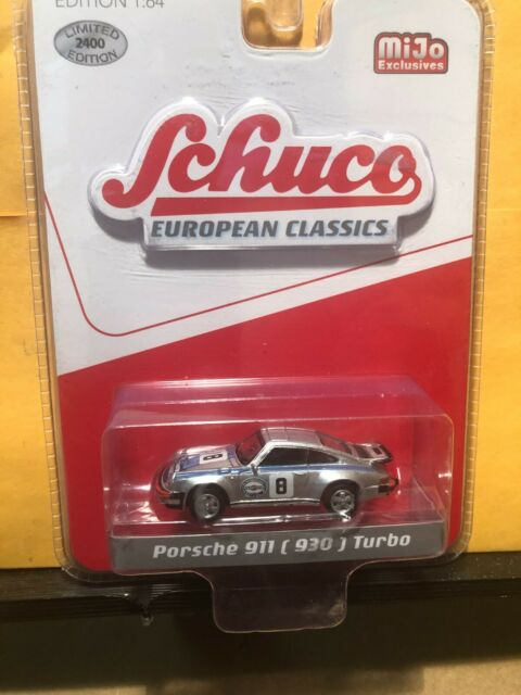 1:64 Schuco Porsche 911 930 Turbo Martini Hong Kong exclusive kyosho tarmac ig