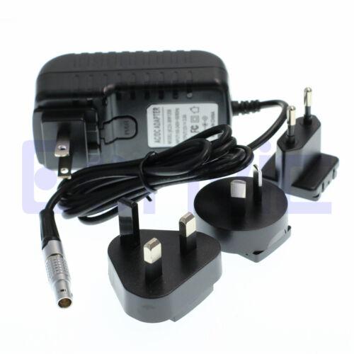 2 Pin teradek Bond Perno vaxis Receptor Cable adaptador de alimentación de CA con enchufes de múltiples