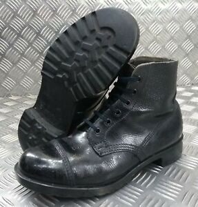 Genuine Vintage 58 Pattern British Army DMS Ankle Parade Boots Smooth Toe 7S