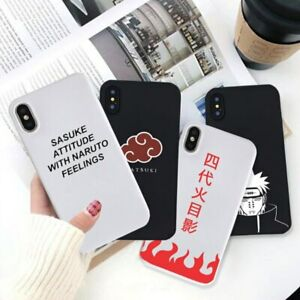 New-Anime-Sasuke-Naruto-Soft-Silicone-Fitted-Case-iPhone-6s-7-8-XS-Max-XR-11-Pro