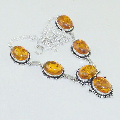 Amber Handmade Necklace 21 Gms N-8520