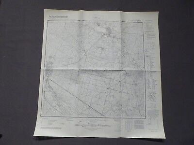 PräZise Landkarte Meßtischblatt 4254 Pförten, Brody, Forst (ost), Drathhammer, 1939 Gut FüR Antipyretika Und Hals-Schnuller