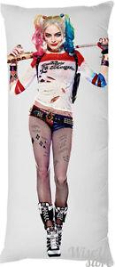 Harley Quinn Margot Robbie Sexy Hot Body Suicide Squad Dakimakura