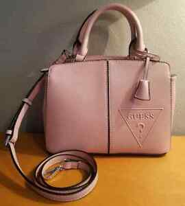 cd4f3343c5ef Authentic Guess Women s Inspire Blush Pink Small Purse Handbag ...
