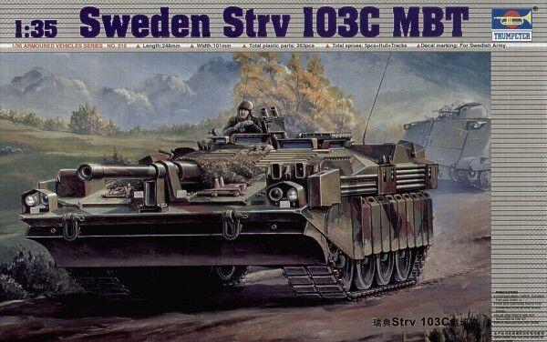 Trumpeter 1 35 Sweden Strv 103C Main Battle Tank