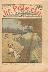 Ouverture-de-la-Chasse-Hunter-Hunting-Chasseur-Lapin-de-Garenne-Lievre-1936