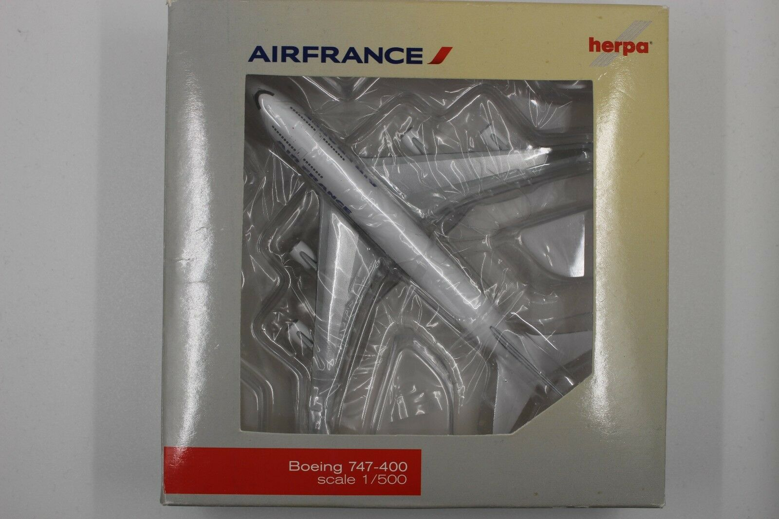 HERPA WINGS Club 1 500 Air France Boeing 747-400 (523844) Limited Edition