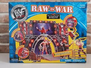 Wwf Wwe Jakks Pacific Raw Is War Wrestling Entrance Playset Very Rare Ebay