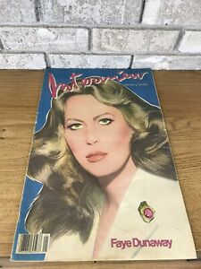 VINTAGE-INTERVIEW-MAGAZINE-JANUARY-1982-FAYE-DUNAWAY-COVER-ANDY-WARHOL