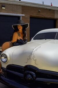 1950 Ford Custom Deluxe chopped