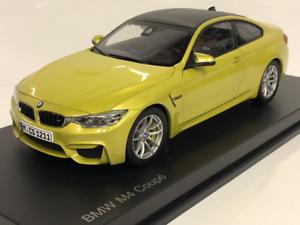 BMW M4 F82 Austin Amarillo 1 18 escala Paragon 2339606