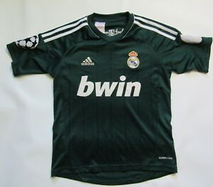 Image is loading REAL-MADRID-GALACTICOS-shirt-ADIDAS-Champions-League-boy- 4b92b2ec1