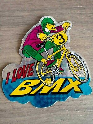 Old School BMX Deebo Sticker GT//Haro//Hutch//Dyno//Redline That/'s My BMX Punk