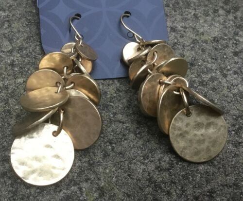 Tipo de moneda pendientes bailarina del vientre Hippy Boho Regalo de Navidad Stocking Relleno J464