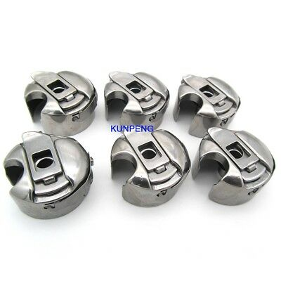 Metal Industrial Sewing Machine Bobbin Case and Bobbins for Singer Brother