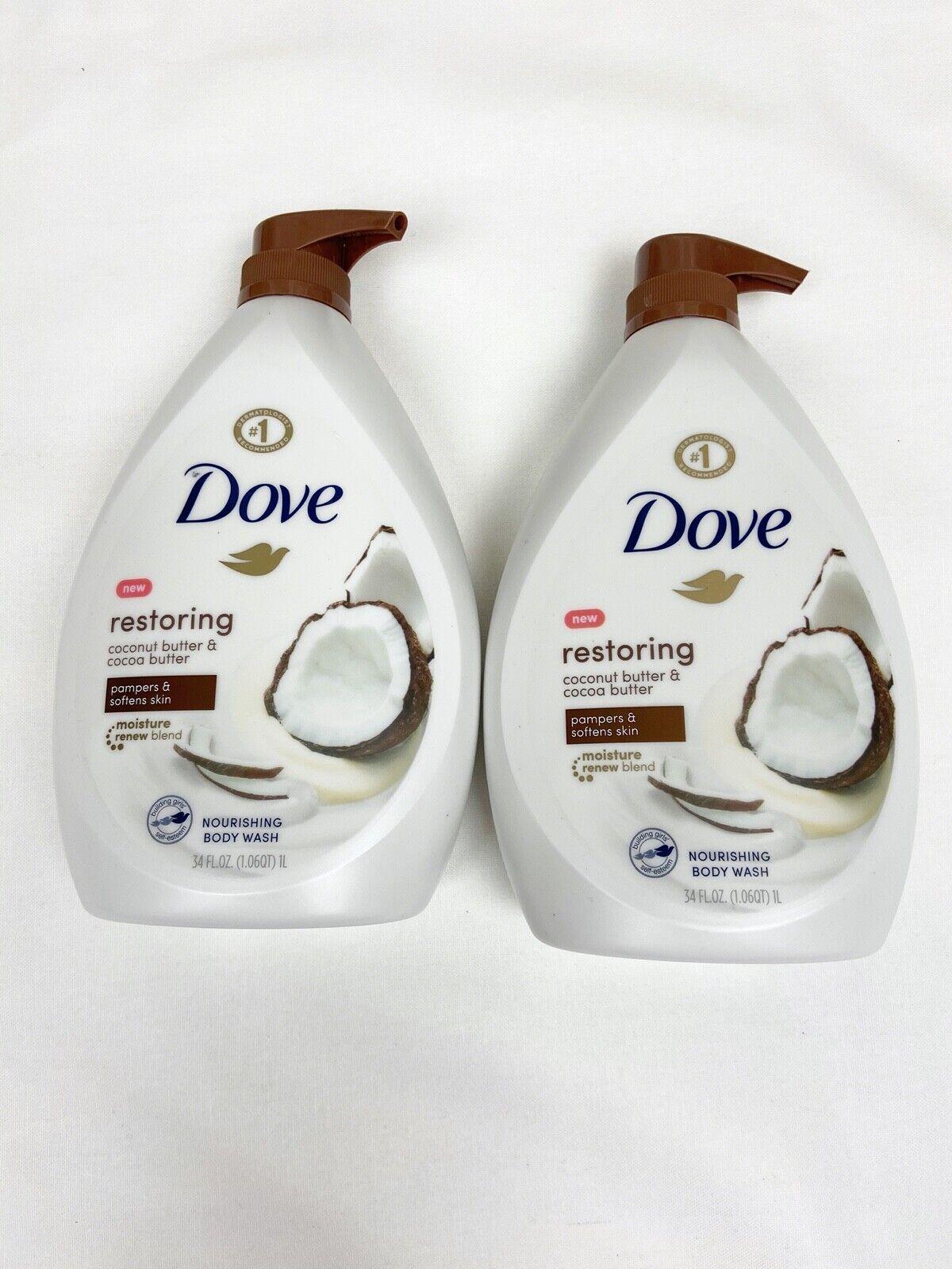 Dove Purely Pampering Body Wash Coconut Milk With Jasmine Petals 34 Oz For Sale Online Ebay