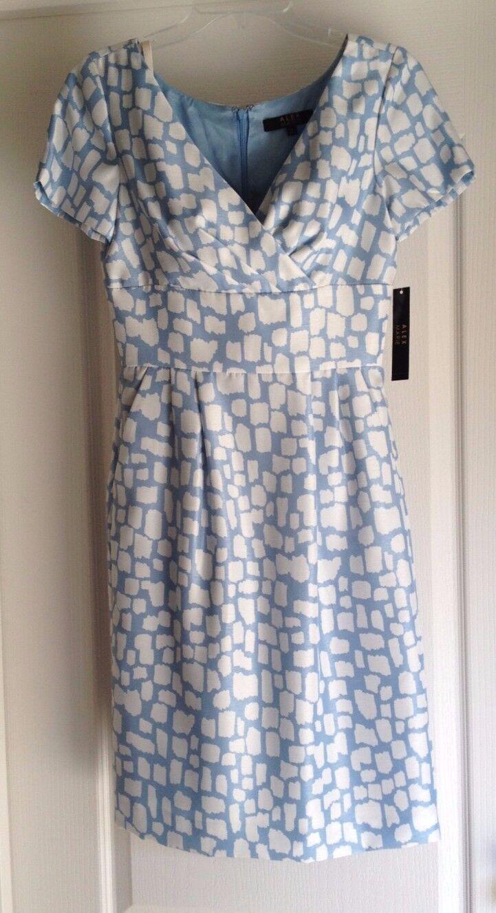 Alex Marie Women s Satin Look Dress Size 2 Short Sleeve npznow3895-Dresses 0848f9b31