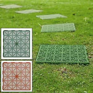 Stellwerk Outdoor Garten Kunststoff Terrasse Weg Begehbarer Boden Rasen Terrasse Fliesen Ebay