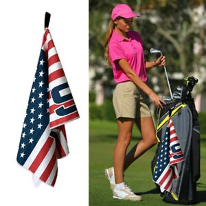 Golf-Towels-Microfiber-Jacquard-14-034-x-42-034-With-Hook-Fits-Club-Callaway-Titleist