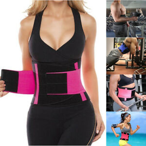 Corset Trimmer Belt Abdominal Elastic Waist Trainer Hourglass Body Shaper Fajas