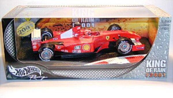 King of Rain Ferrari F 2001 mit Michael Schumacher (Nr.1) Formel 1 Saison 2001
