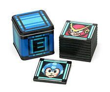Capcom Official Licensed Mega Man 2 II Ceramic 10 Drink Coaster Set Energy Tin