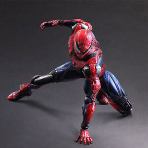 Play-Arts-Kai-PA-Spider-Man-Variant-Action-N-W-box-PVC-Figure-Toy-Gift
