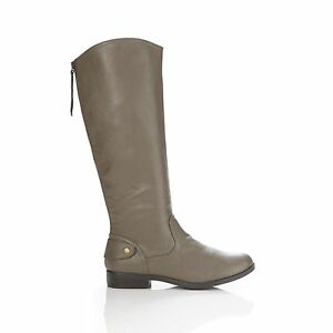 New-Bongo-Womens-Trifecta-Riding-Boot-Style-20297-Taupe-89A-C-kl