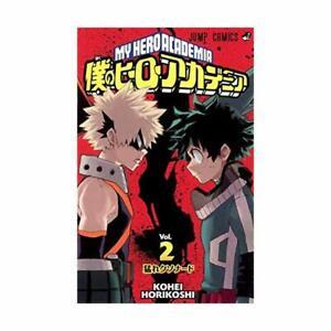 Boku-no-Hiro-Akademia-My-Hero-Academia-Vol-2-Manga-Jump-Comics-Book