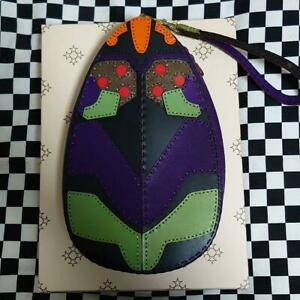 Ojaga-Design-Evangelion-leather-Pouch-Neon-Genesis-Eva-Anime-Limited-Rare