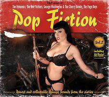 VARIOUS ARTISTS - POP FICTION VOL 2 - 2 CD WOODBOXSET + POSTER